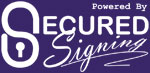 secured signing logo